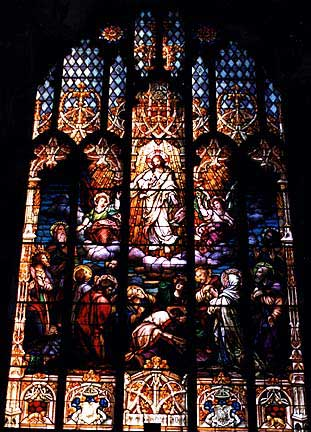 St. Patricks Catholic Church Stained Glass Window