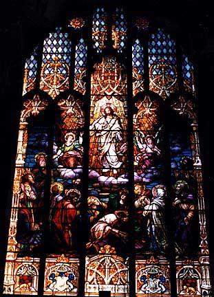 St. Patricks Catholic Church Stained Glass Window