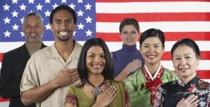 immigrants taking the pledge