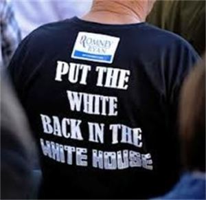 put the white back in the white house