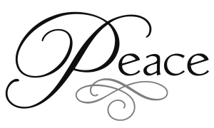 peace text