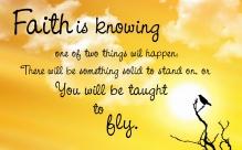 faith and flying