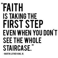 faith mlk quote