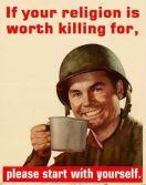 religion worth killing for
