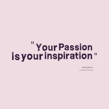 Perspiration or Inspiration:  Which is more Important to the Writer? (4/6)
