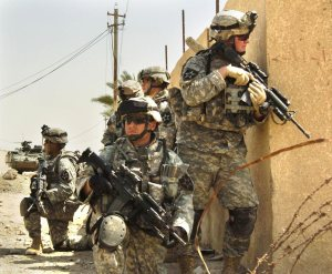 soldiers on recon