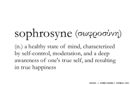 happiness in moderation