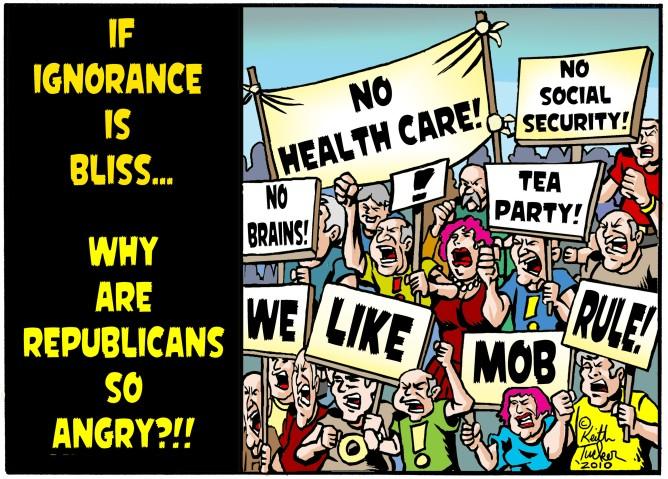 Image result for republican bigotry cartoons
