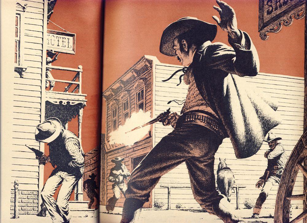 western gunfight