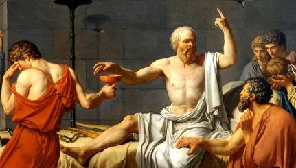 Death of Socrates JacquesLouisDavid