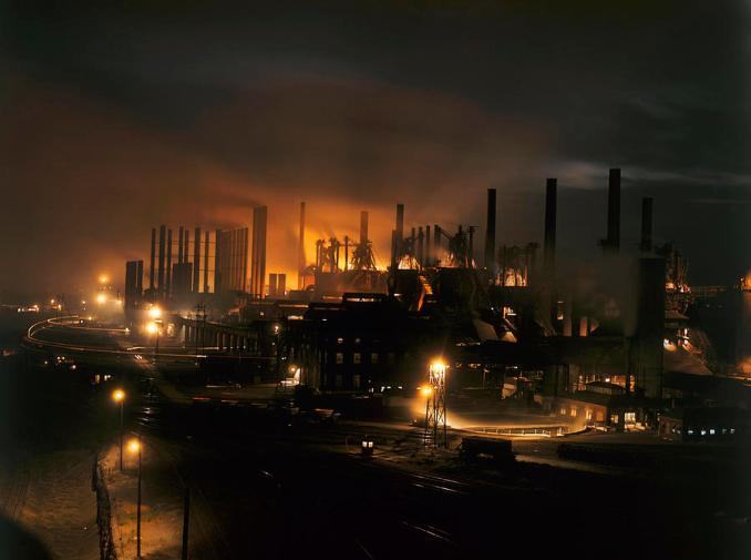 blast-furnaces-of-a-steel-mill-light-j-baylor-roberts