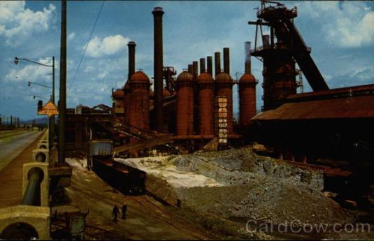 Steel Mills Birmingham