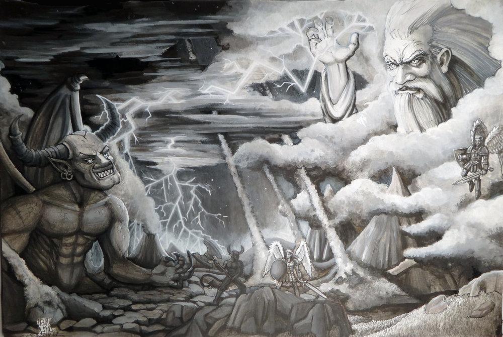 god-and-satan