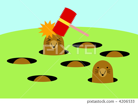 whack-a-mole-cartoon