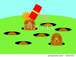 Image result for whack-a mole
