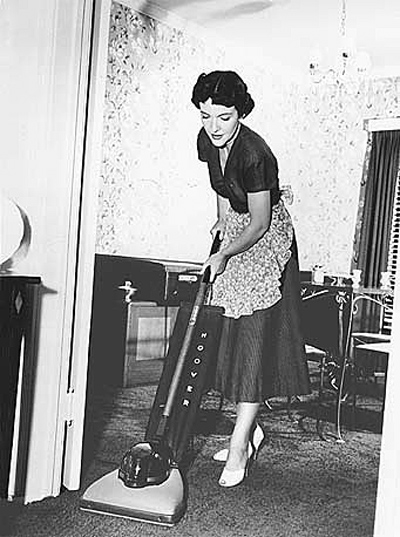 woman-vacuum-cleaning