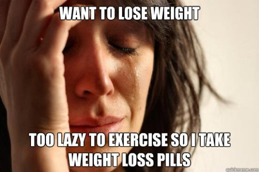 too lazy to exercise