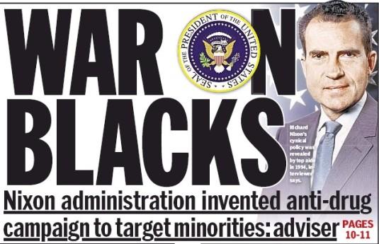 war on blacks