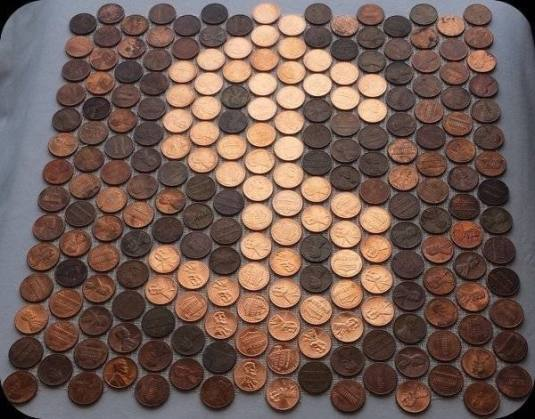 dollar-sign-made-with-real-shiny-pennies-as-tile-sheets