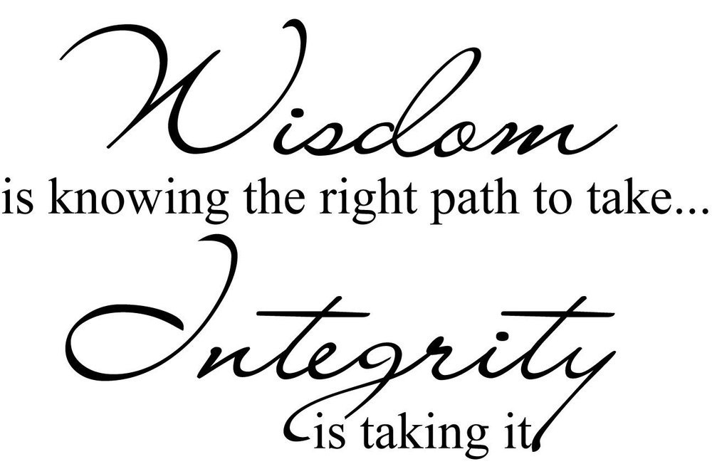 Wisdom-knowing-font-b-Integrity-b-font-Decor-Cute-vinyl-wall-decal-font-b-quote-b