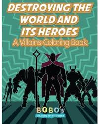 a villains coloring book
