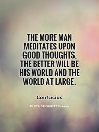 confucious on good thoughts