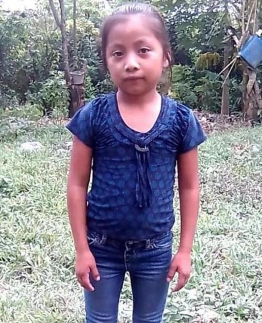 Migrant girl who died