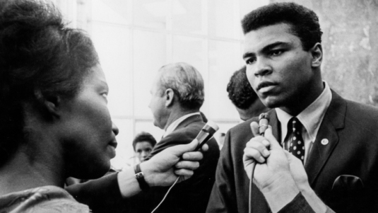 Muhammad Ali. Speaks With Journalists After The Sentence For Refusing To Enlist. 1967.
