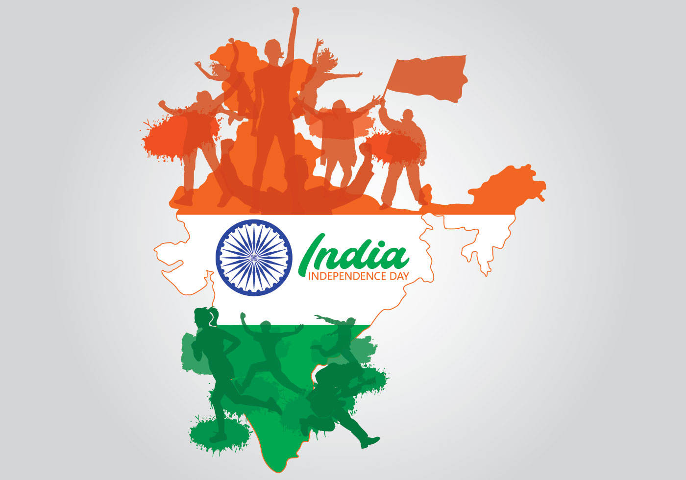 india-map-with-silhouettes-of-people-for-indian-independence-day