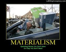 materialism and spending