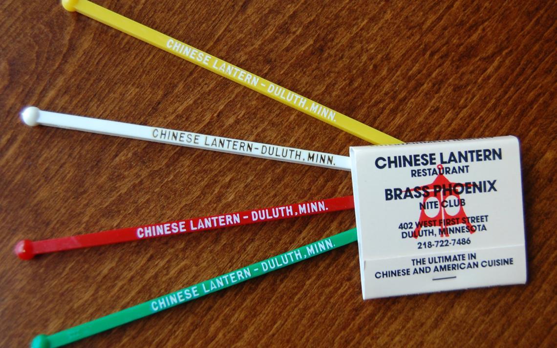 Chinese Lantern - matchbook