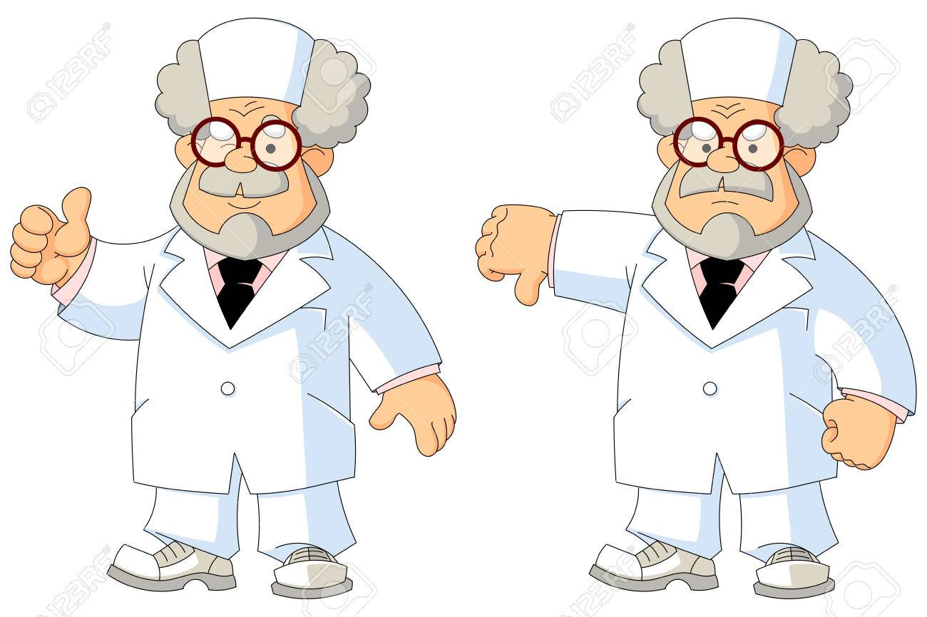 57171431-cartoon-wise-old-doctor-gestures-and-emotions-