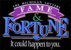 Michigan-lottery-fame-and-fortune-sign